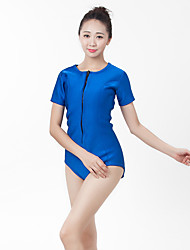 Women's 1mm Wetsuits Drysuits Sleeveless Wetsuits Waterproof Waterproof Zipper Front Zipper Wearable Compression Comfortable Full Body