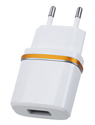 Jtron DC 5.3V 2.0A USB Power Adapter / Charger (EU Plug) - White  Black