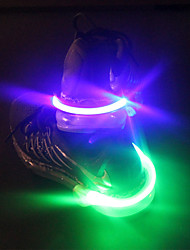 USB LED Shoe Clip Light Night  LED Bright Flash Light For Running Cycling Bike 1 Piece
