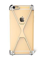 Pour Antichoc Coque Antichoc Coque Couleur Pleine Dur Aluminium pour Apple iPhone 7 Plus iPhone 7 iPhone 6s Plus/6 Plus iPhone 6s/6