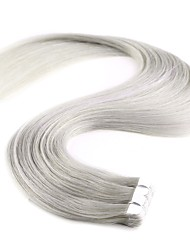 20'' 10Pcs New Fashion Mini Tape in Human Hair Extensions 100% Remy PU Skin Weft