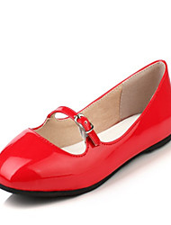 Women's Heels Spring / Fall / Winter Platform / Comfort Customized Materials / Leatherette Wedding / Dress / Casual Chunky Heel Buckle