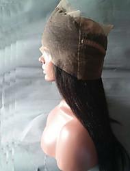 8a frontais banda 360 laço com cabelo do bebê ao redor de fecho laço frontal hairline nós descorados malaio reta de seda