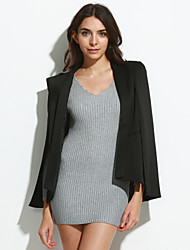 Women's Casual Thin Long Sleeve Regular Blazer