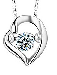 Necklace Pendant Necklaces Jewelry Casual Others Basic Design Alloy Women 1pc Gift Silver