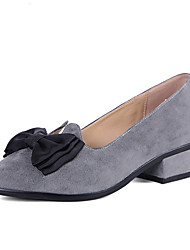 Women's Loafers & Slip-Ons Spring Summer Fall Winter Others Other Animal Skin Casual Low Heel Bowknot Gray Others