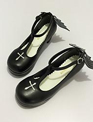 Schuhe Gothik Niedlich Klassische/Traditionelle Lolita Punk Wa Vintage Inspirationen Elegant Viktorianisch Prinzessin Stöckelschuh
