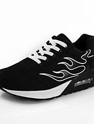 Черный Розовый Фиолетовый-Женский-Для прогулок-Полиуретан-На плоской подошве-Удобная обувь-Спортивная обувь