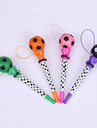 Creative Plastic Football Decal Penholder Bounce BallPoint Pen