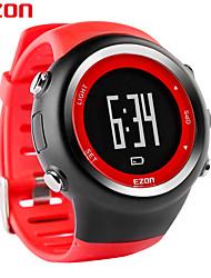 deportes al aire libre EZON reloj GPS digital de tiempos reloj del funcionamiento del contador de distancia de calorías relojes t031a02