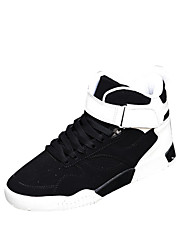 Men's Sneakers Fall Other Other Animal Skin Outdoor Low Heel Lace-up Black White Black/Red Walking