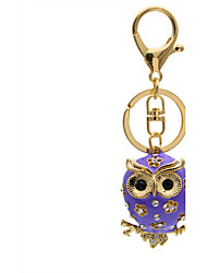 Fashion cute Diamond Diamond Pendant bag small owl eyes