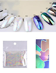 1pcs  Shell Starry Sky Nail Art Transfer Foils Stickers DIY Manicure Nail Art Foil Paper Decoration 5*20cm