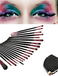 20PCS Professional Eyeshadow Makeup Brush Set Powder Foundation Eyeliner Lip Cosmetic Makeup Brush Set(2 Color Selected)