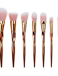 7 Contour Brush Makeup Brushes Set Blush Brush Eyeshadow Brush Concealer Brush Powder Brush Foundation Brush Synthetic Hair Full Coverage