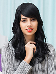 Attractive Layered Beautiful Long Capless Wigs Natural Wavy Human Hair