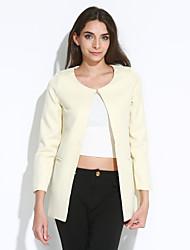 мода простой тонкий тонкий пиджак miyue женщин
