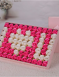 DIY Artificial flowers home decoration soap with box s romantic valentine's day wedding bouquet is a birthday present