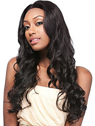 Long Wavy Synthetic Wigs Blonde Brown Synthetic Hair Wigs Highlighted Heat Resistant Cosplay Wig