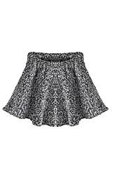 Damen Röcke,Stifte einfarbigLässig/Alltäglich Mittlere Hüfthöhe Mini Elastizität Others Micro-elastisch Winter