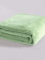 Coral fleece As per picture,Solid Solid Wool/Acrylic Blankets