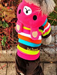 Dog Coat Dog Clothes Winter Cartoon Cute