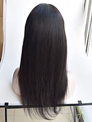 Silky straight brazilian silk base wigs 4x4 swiss lace 130% density silk top lace front glueless human hair wig