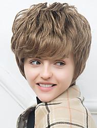 новое прибытие естественная волна человеческих волос монолитным парики