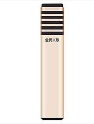 TAKSTAR Проводной Микрофон для караоке 3,5 мм Золотистый