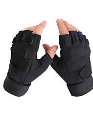 wearable nylon luvas de caça unisex preto
