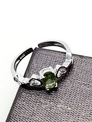 Ring Daily Casual Jewelry  Emerald  Ring 1pc One Size
