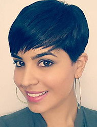 New Short Hairstyles Capless Human Hair wigs For Black Women Spring 2017