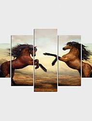 Impression sur Toile Animal Fantaisie Moderne Classique,Cinq Panneaux Toile Toute Forme Imprimer Art Décoration murale For Décoration