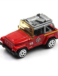 Fire Engine Vehicle Toys 1:60 Metal Red