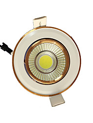 5PCS  5W COB 220-240V Warm White LED Down Light Recessed Ceiling