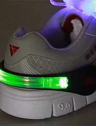 1pcs ailin lueur jouet sombre conduit nuit lumière mouvement clip chaussure de lumière la nuit en plein air feux de sécurité avertissement