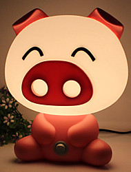 Pretty Cute Pig  Cartoon Animal LED Night Light Baby Room Sleeping Light Bedroom Desk Lamp Night Lamp Best for Gifts
