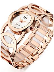 ASJ Женские Модные часы Наручные часы Часы-браслет Повседневные часы Японский Кварцевый Японский кварц Защита от влаги Ударопрочный сплав