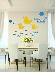 Animaux Stickers muraux Autocollants muraux 3D Autocollants muraux décoratifs,Vinyle Matériel Décoration d'intérieur Calque Mural