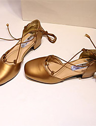 Damen-High Heels-Outddor-KunstlederAndere-Schwarz Gold