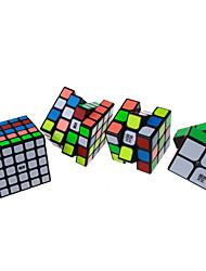 Cube de Vitesse  2*2*2 3*3*3 4*4*4 5*5*5 Vitesse Niveau professionnel Cubes magiques Autocollant lisse Anti-pop ressort réglable ABS