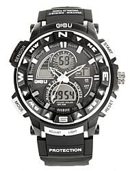 Men's Women's Unisex Sport Watch Fashion Watch Wrist watch Digital Watch Quartz Digital Silicone Band Vintage Casual Multi-Colored