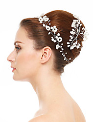 Women's Imitation Pearl Headpiece-Wedding Special Occasion Headbands 1 Piece