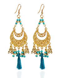 Drop Earrings Hoop Earrings Earrings Set Jewelry Women Wedding Party Daily Acrylic 1 pair Black White Yellow Blue