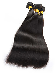 Cheap Brazilian Virgin Hair Straight Virgin Human Hair Weave 3 Bundles Human Hair Products Brazilian Straight Hair Weave Bundles