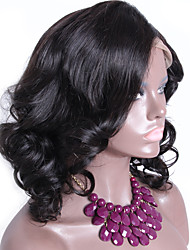 Silk Top Full Lace Wigs Natural Color Loose Wave Wig Human Hair Lace Wigs With Baby Hair Silk Base Wigs