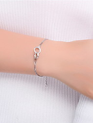 Bracelet Chain Bracelet Sterling Silver Others Natural Gift Valentine Jewelry Gift Gold Silver,1pc