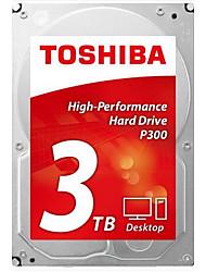Toshiba 3TB Disque dur de bureau 7200rpm SATA 3.0 (6Gb / s) 64Mo cachette 3.5 pouces-HDWD130