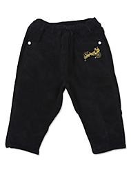 Boy's Spring/Fall Micro-elastic Medium Pants (Cotton/Spandex)