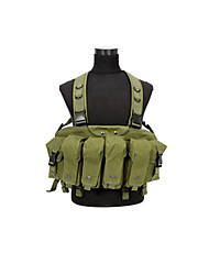 Unisex Vest/Gilet Hunting Protective Spring Summer Fall/Autumn Winter Army Green